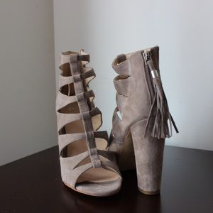 Marc Fisher cage heels